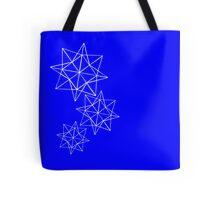 Papercut stars Tote Bag