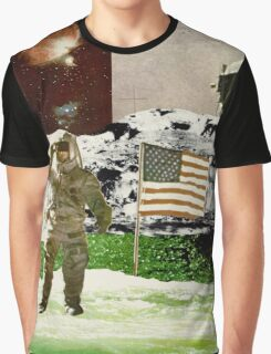Astronaut At Sea Graphic T-Shirt