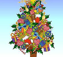 Joy of Christmas by Lisa Frances Judd~QuirkyHappyArt