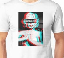 Supreme Logo Classic / Marilyn / Cheap / Shirt / Sale Unisex T-Shirt
