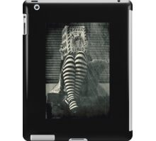 Zebra book for girls iPad Case/Skin