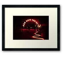 Fear Eats the Soul Framed Print
