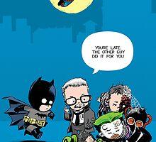 Gotham babies by ickhwano