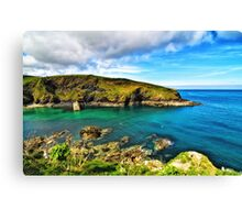 Entrance to Port Isaac Canvas Print