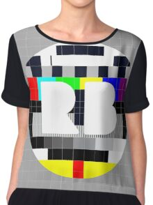 RB Test Pattern Chiffon Top
