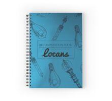 Locans Decomposition Book Spiral Notebook