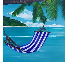 Beach Hammock Photographic Print