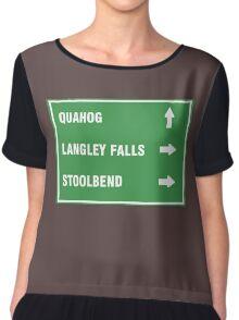 Quahog,LangleyFalls,Stoolbend Chiffon Top