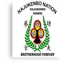 Kajukenbo Nation, Kajukenbo Honor Canvas Print