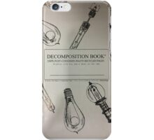 DECOMPOSTION BOOK iPhone Case/Skin