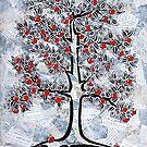 Apple Tree by Lisa Frances Judd~QuirkyHappyArt