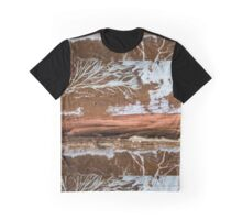 The wood draws trees - Reflecting the Nature it was Graphic T-Shirt
