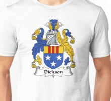 Dickson Coat of Arms / Dickson Family Crest Unisex T-Shirt