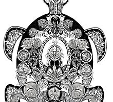 Sea turtle by Jenny Wood