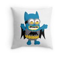 Batminion Throw Pillow