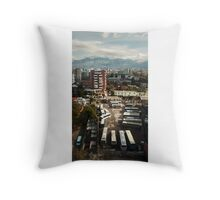 City skyline Throw Pillow