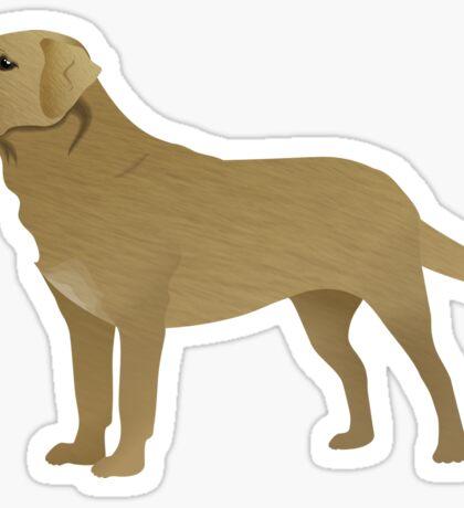 Dog Illustration - Labrador Sticker