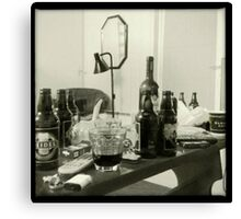 The Beer Table of ___ Canvas Print