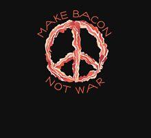 Make Bacon Not War Womens Fitted T-Shirt