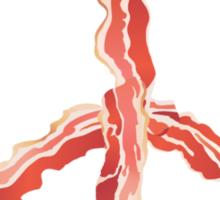 Make Bacon Not War Sticker