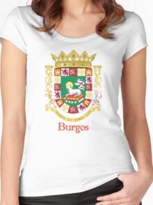 Burgos Shield of Puerto Rico Women's Fitted Scoop T-Shirt