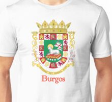 Burgos Shield of Puerto Rico Unisex T-Shirt