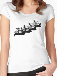 Tank Man Women's Fitted Scoop T-Shirt