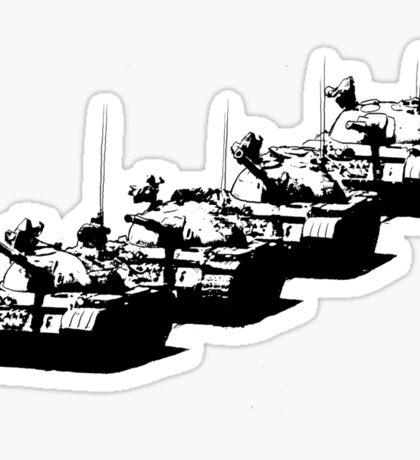Tank Man Sticker