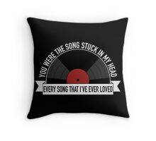 Your Favorite Record Throw Pillow