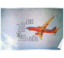 Proverbs 3 Trust Poster