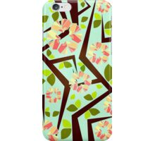 Blooming Trees Pattern III iPhone Case/Skin