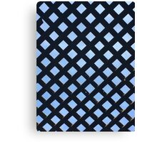 Diamonds in the Sky - Wood Pattern Canvas Print