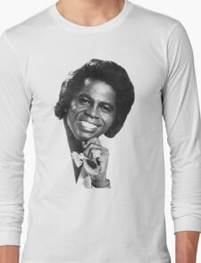 James Brown Portrait Long Sleeve T-Shirt