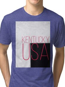 KENTUCKY USA Tri-blend T-Shirt