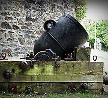 """Crimean War Mortar"" by Malcolm Chant"