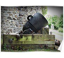 """Crimean War Mortar"" Poster"