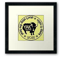 2015 YAK FILMS Framed Print
