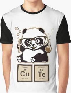 Chemistry panda discovered cute Graphic T-Shirt