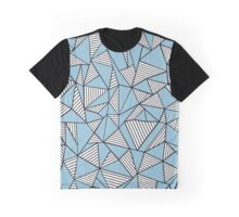 Ab Blocks Blue #2 Graphic T-Shirt