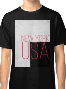 NEW YORK USA Classic T-Shirt
