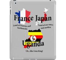 UGANDA...like Lion King! iPad Case/Skin