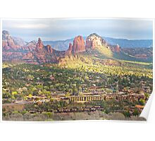 Morning Comes to Sedona Poster