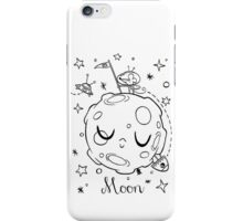Moon and the Mouse iPhone Case/Skin