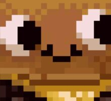 Pixel Burgie Sticker