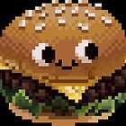 Pixel Burgie by CountingMagpies