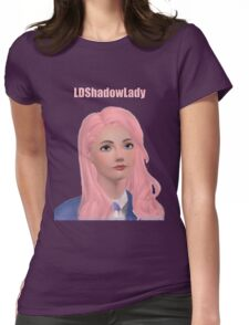 LDShadowLady, Sims, Minecraft, Youtuber Womens Fitted T-Shirt