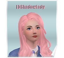 LDShadowLady - Sims - Minecraft - Youtuber - (Designs4You) Poster