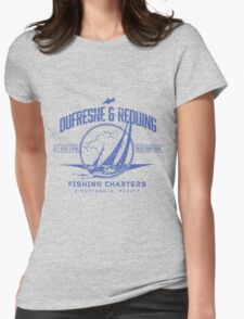 Dufresne & Redding Fishing Charters Womens Fitted T-Shirt
