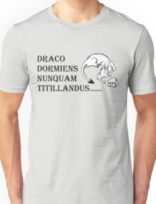Never tickle dragons... Unisex T-Shirt