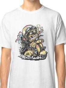 crazy biker Classic T-Shirt